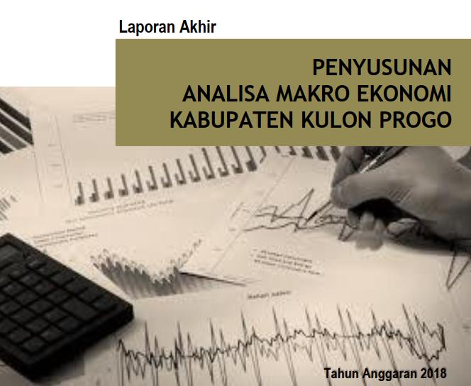 Laporan Analisa Makro Ekonomi Kabupaten Kulon Progo Tahun 2018