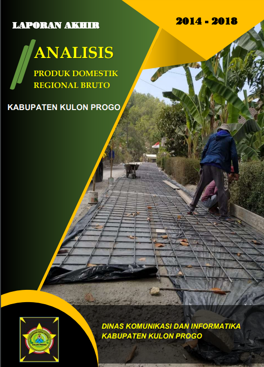 Laporan Analisis PDRB Kabupaten Kulon Progo 2014-2018