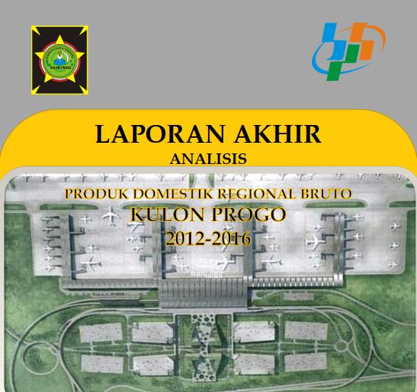 Laporan Analisis PDRB Kulon Progo 2012-2016